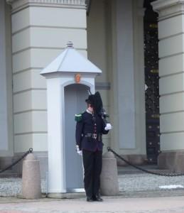 Garde vor dem königlichen Schloss, Oslo