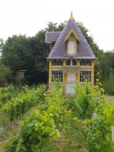 Winzerhaus bei Epernay, Champagne, Frankreich