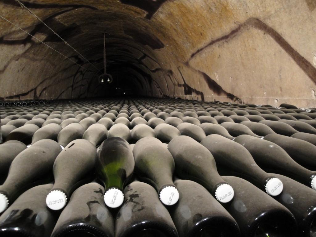 Champagnerkeller von Pol Roger