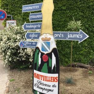 Hautvillers in der Champagne, wo einst Mönch Dom Perignon wirkte
