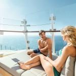 Entspannungsloge an Bord der Mein Schiff 3 und 4