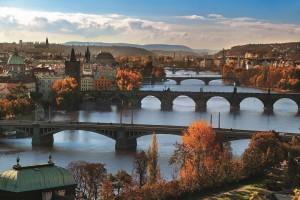 Prag Bruecken Czech Tourism Svacek Libor