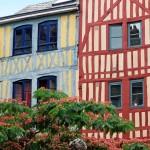 Rouen Fachwerkhäuser
