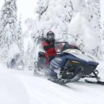Schneemobilsafari in Lappland