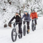 Fatbike im Schnee