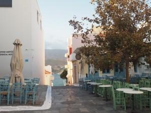 Chora - die Hauptstadt der Insel Andros