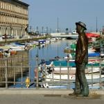 Statue James Joyce