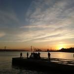 Sonnenuntergang Cais do Sodré