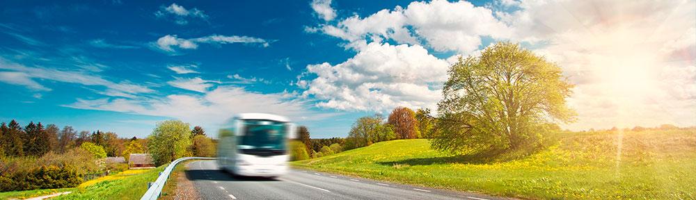 bus-in-landschaft
