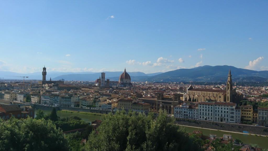 Ausblick von der Piazzale Michelangelo